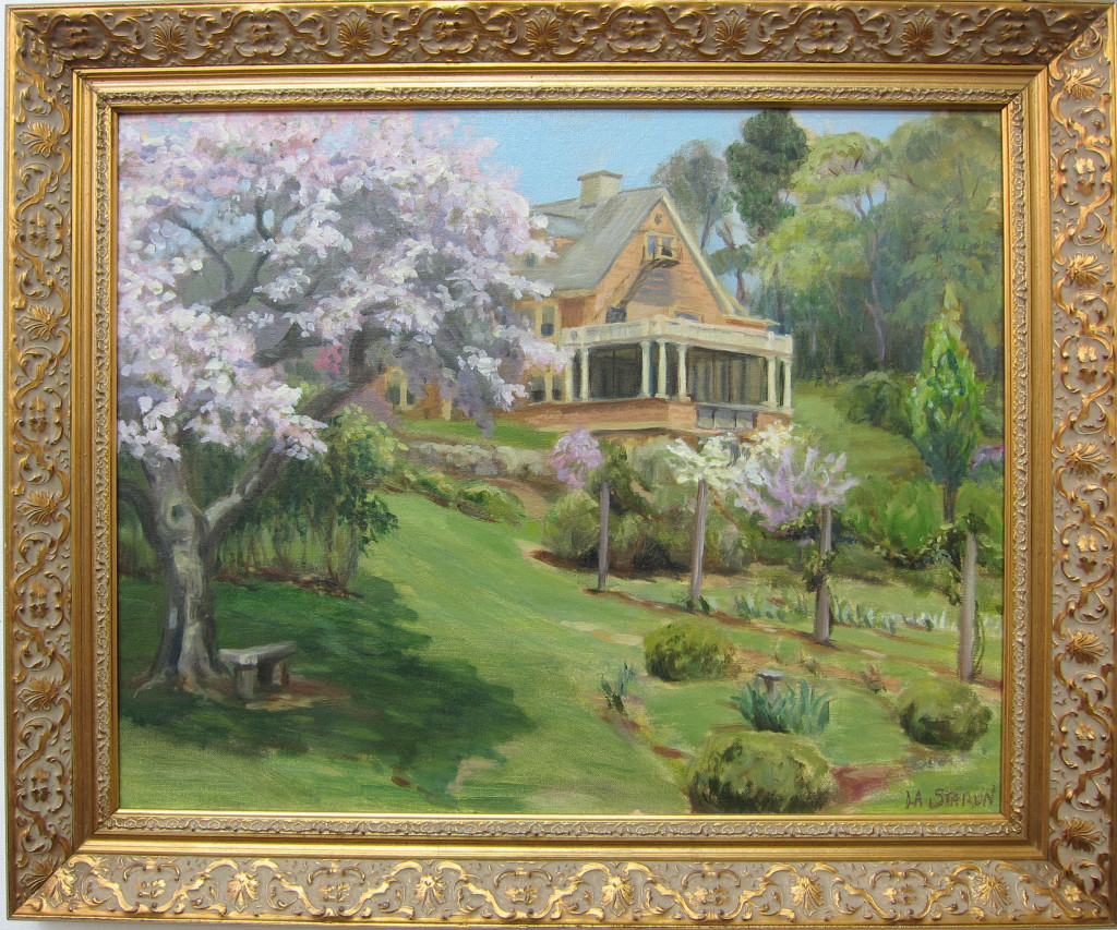 Wisner House, Reeves Reed Arboretum  Oil on canvas  $600